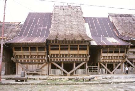 Konstruksi Rumah adat Nias